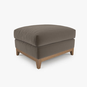 FREE Crate and Barrel Taraval Ottoman 3D Model