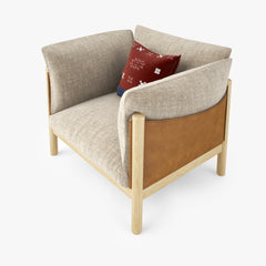 DePadova Yak Armchair 3D Model