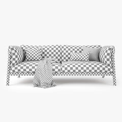 DePadova Yak Two Seater Sofa 3D Model