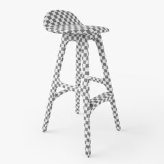 Erik Buch Bar Stool 3D Model