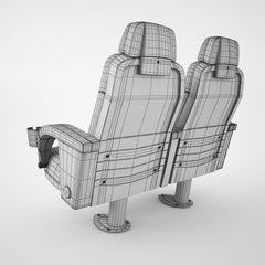 Figueras 5046 Top Club Chair 3D Model