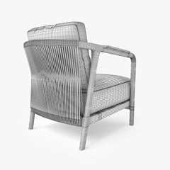 Flexform Crono Armchair 3D Model