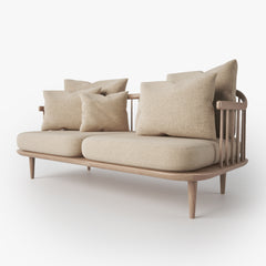 FREE And Tradition Fly Sofa SC2 3D Model