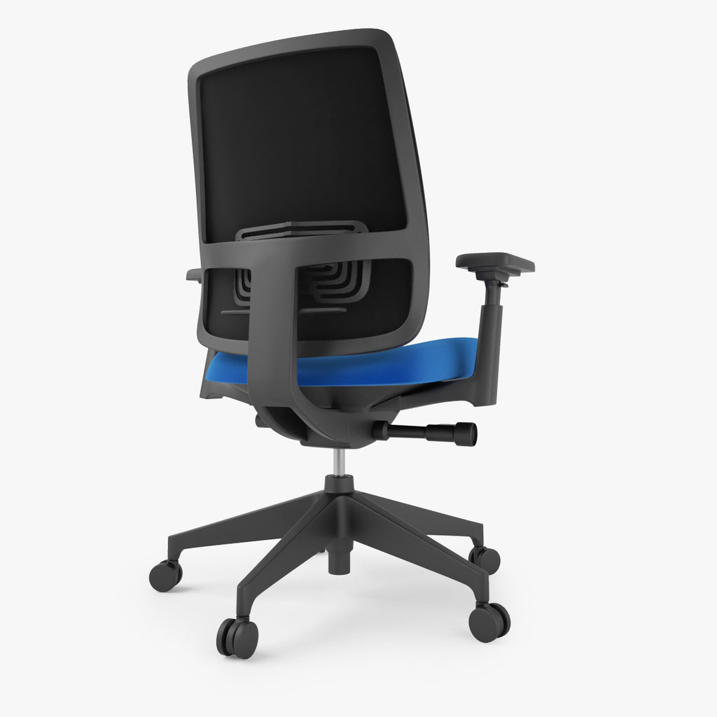 Stupendous Free Haworth Lively Task Office Chair 3D Model Facequad Short Links Chair Design For Home Short Linksinfo