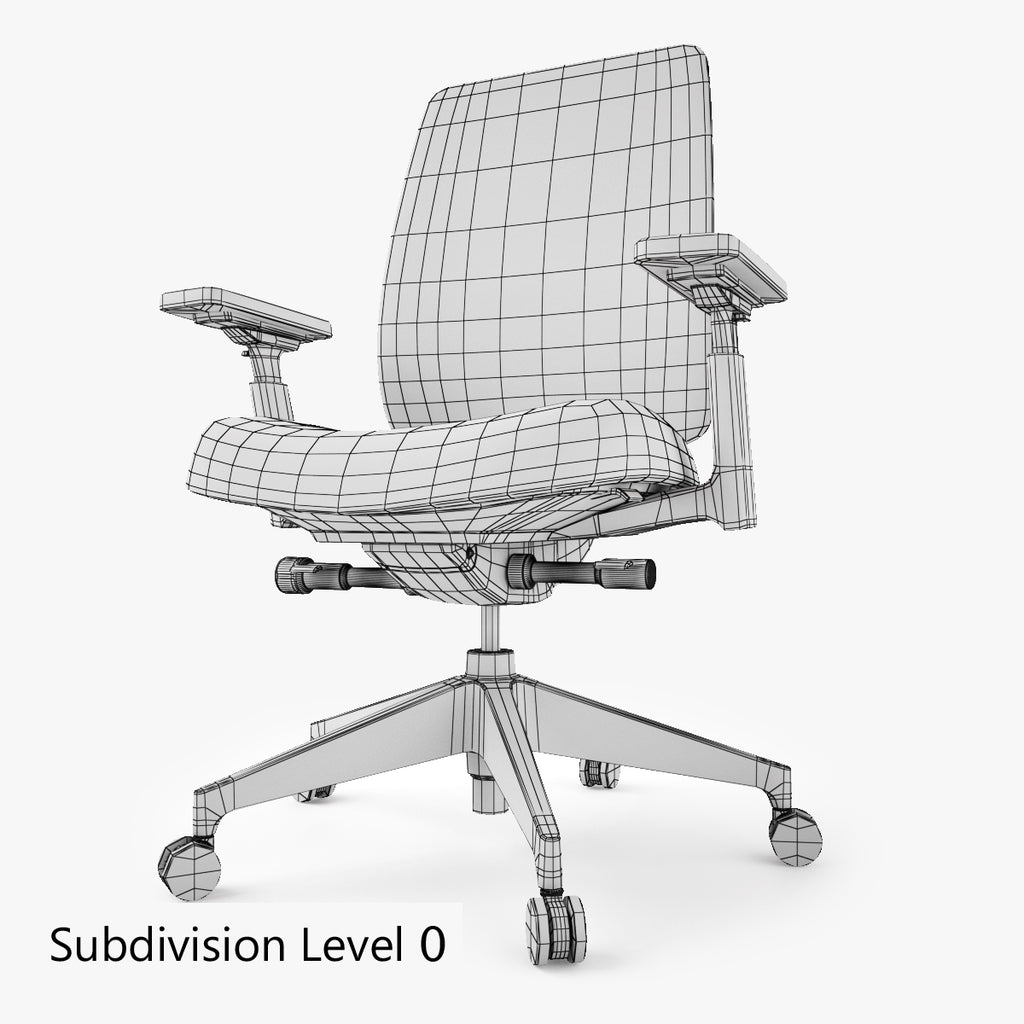 Groovy Free Haworth Lively Task Office Chair 3D Model Facequad Short Links Chair Design For Home Short Linksinfo
