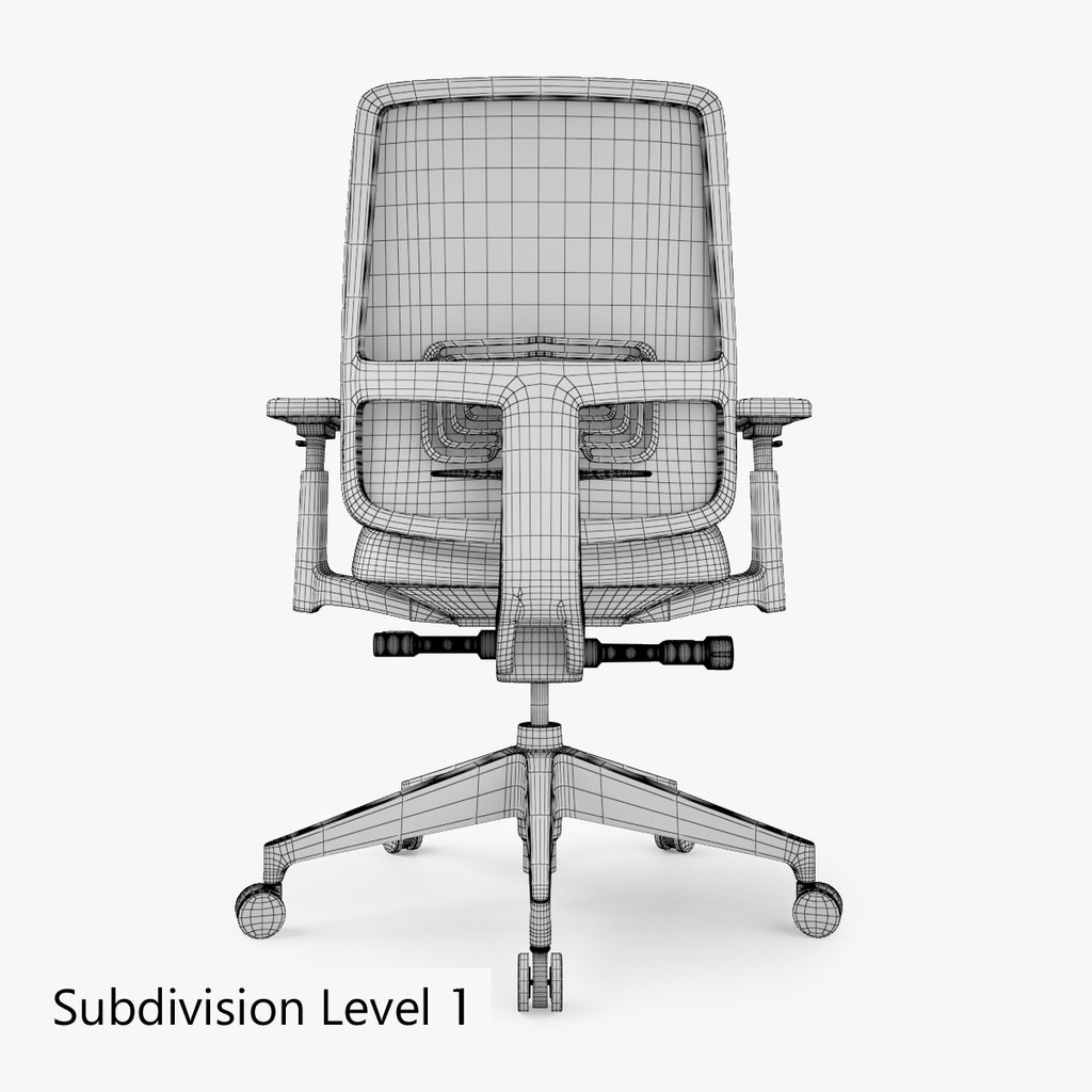 Peachy Free Haworth Lively Task Office Chair 3D Model Facequad Short Links Chair Design For Home Short Linksinfo