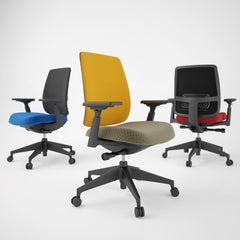 FREE Haworth Lively Task Office Chair 3D Model