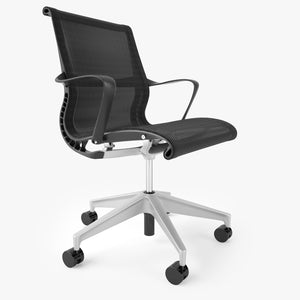 Herman Miller Setu Office Chair 3D Model