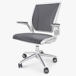 Humanscale Diffrient World Chair 3D Model