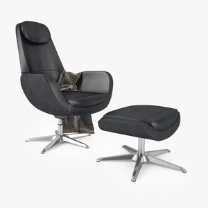 FREE IKEA Arvika Swivel Chair 3D Model