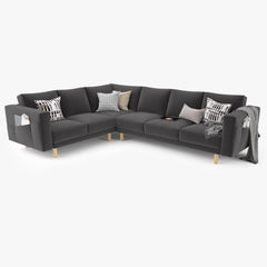 IKEA Morsborg Corner Sectional Sofa 3D Model