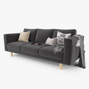 IKEA Morsborg Three Seater Sofa 3D Model