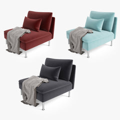 IKEA Soderhamn Sofa Series 3D Model