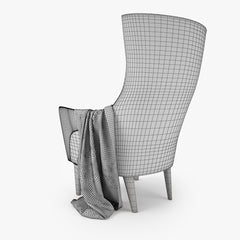 IKEA Stockholm Chair High 3D Model