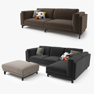 IKEA Nockeby Sofa Series 3D Model