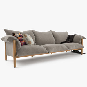 Jardan Wilfred Sofa 3D Model