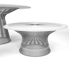 FREE Knoll Platner Coffee Table 3D Model