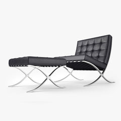 Knoll Barcelona Chair 3D Model