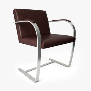 Knoll Brno Chair - Flat Bar 3D Model