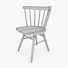 FREE Knoll Straight Chair 3D Model