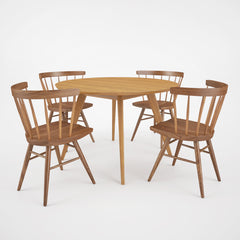 FREE Knoll Straight Chair and Risom Dining Table