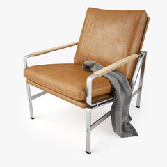 Lange Production FK 6720 Armchair 3D Model
