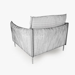 Moroso Gentry Armchair 3D Model