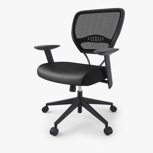 Office Star Air Grid 5500 Space Seating 3D Model