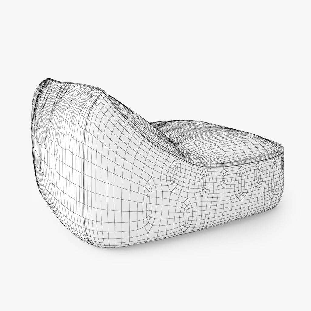 FREE Paola Lenti Float Easy Chair 3D Model | FaceQuad