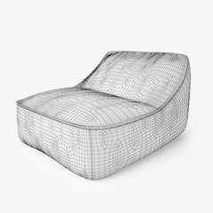 FREE Paola Lenti Float Easy Chair 3D Model