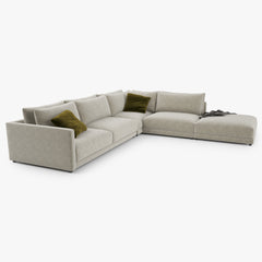 Poliform Bristol Sectional Sofa 3D Model