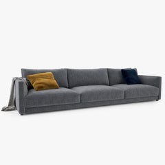Poliform Bristol Three Seater Sofa 3D Model