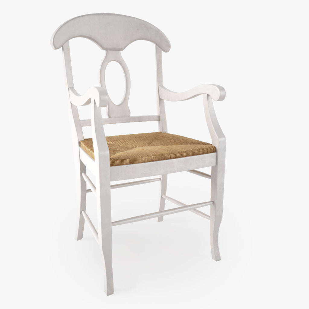 FREE Pottery Barn Napoleon Rush Seat Chair 3D Model | FaceQuad