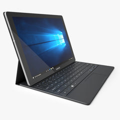 Samsung Galaxy TabPro S Black with Keyboard