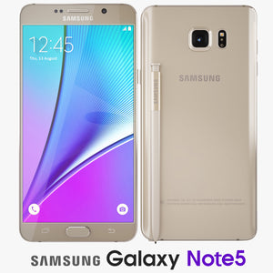 Samsung Galaxy Note5 Gold Platinum