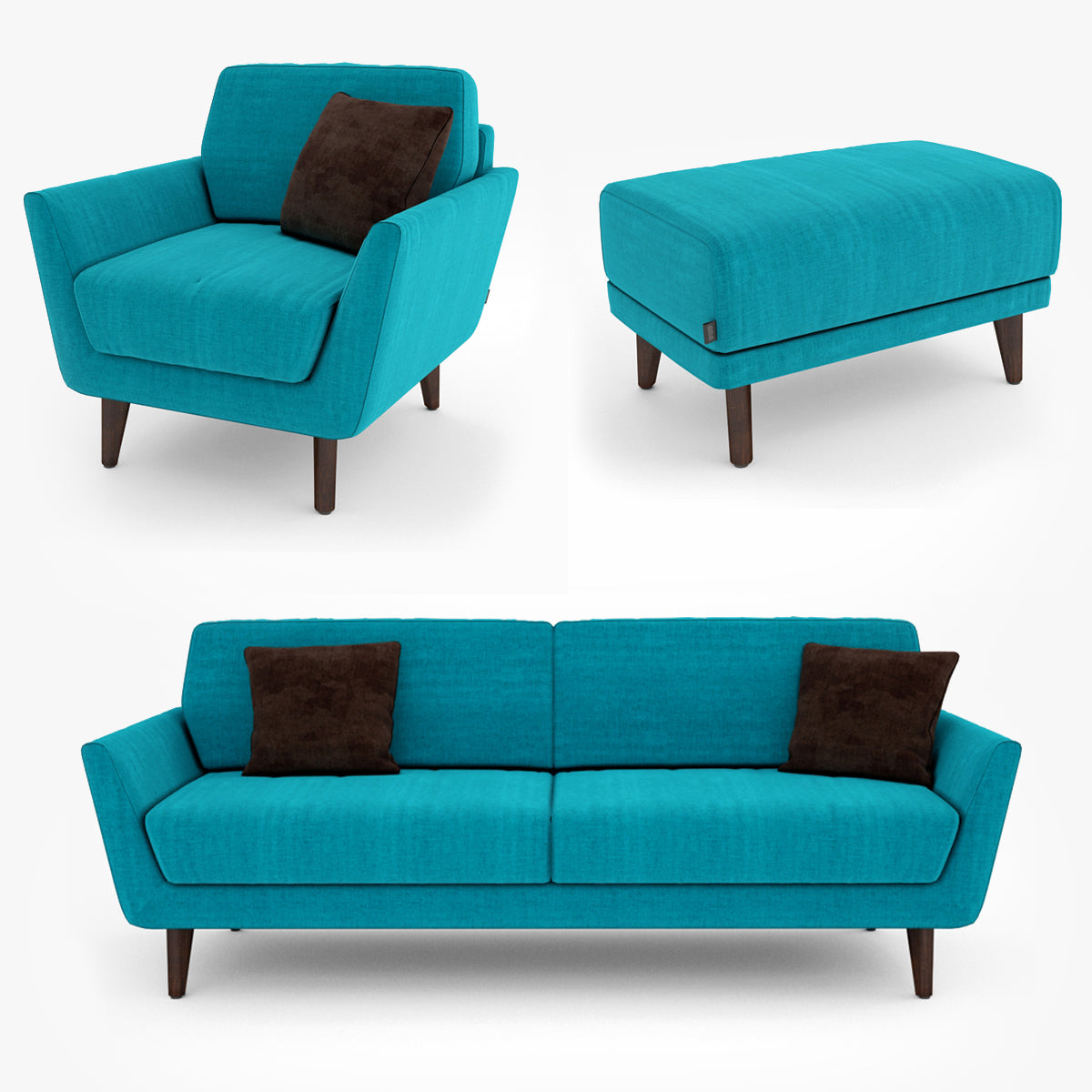 Sits Rucola Sofa Collection 3D Model