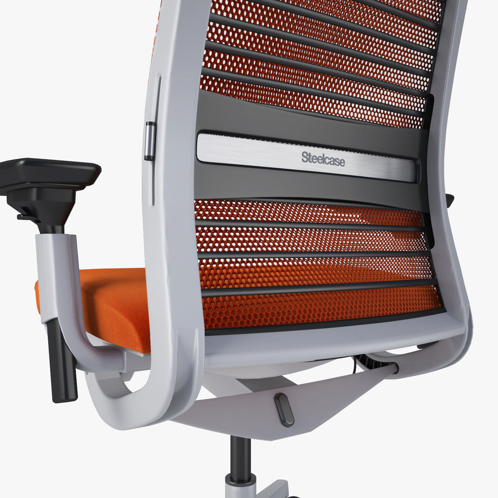 Steelcase Think Office Chair 3D Model   FaceQuad