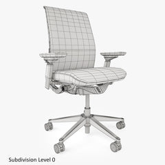 Steelcase Think Chair 3D Model