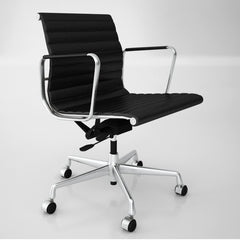 Vitra Aluminium Chair EA 117 3D Model