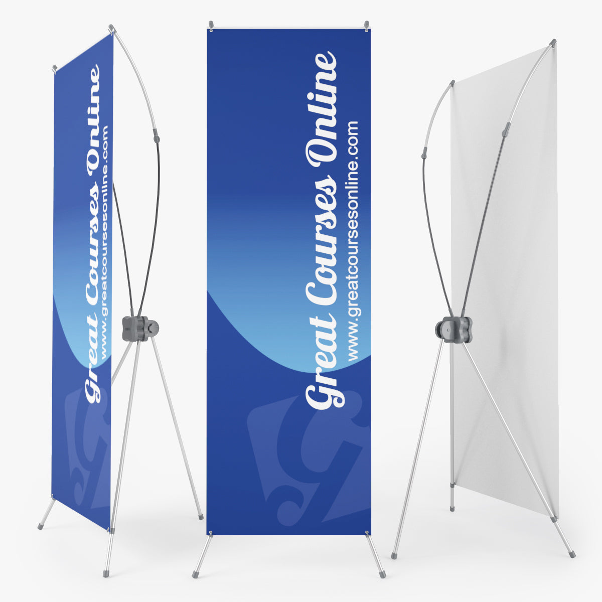 X Banner Stand 3D Model