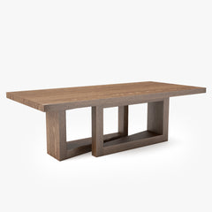 Altura Furniture Oblique Table 3D Model