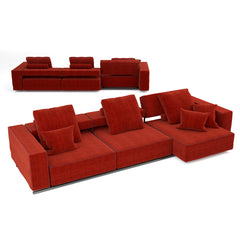 FREE B&B Italia Andy13 Sofa 3D Model