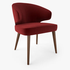 Minotti Aston Dining Armchair 3D Model