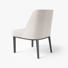 Bright Chair - Eno Side Chair with High Back 3D Model