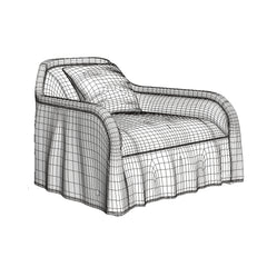 FREE Busnelli Arpege Sofa and Armchair 3D Model