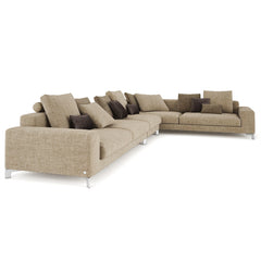 Busnelli Take it easy Sectional Sofa 3D Model