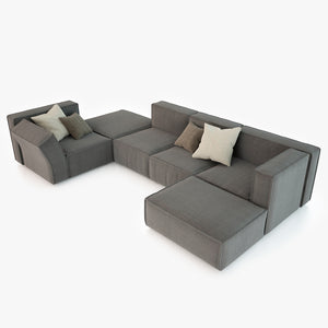 Calia Italia Richard Modular Sofa 3D Model