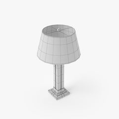 FREE City Lights Detroit - Wright Table Lamp 3D Model