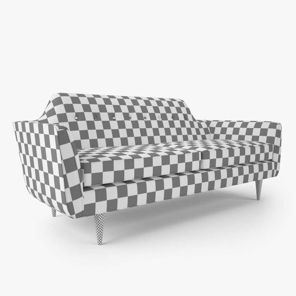 Astounding Crate And Barrel Gia Button Tufted Apartment Sofa And Chair Download Free Architecture Designs Grimeyleaguecom