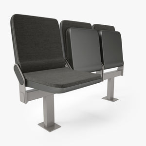 Figueras 800 Compac Auditorium Seating 3D Model